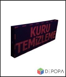 96x256 CM KIRMIZI KAYAN YAZI - Thumbnail