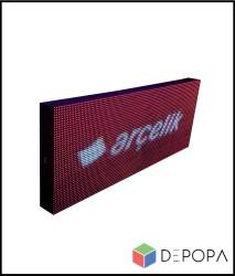 48x320 CM FULL RENK RGB KAYAN YAZI - Thumbnail
